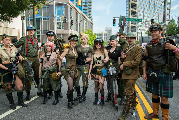 Walking the Dragon Con Parade